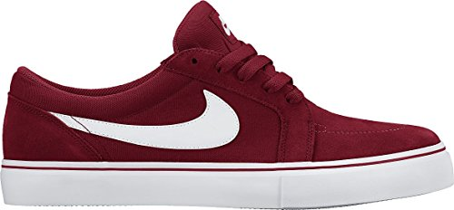 Nike SB Satire II, Zapatillas de Skateboarding para Hombre, Rojo / Blanco (Gym Red/White), 42 EU