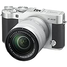 "Fujifilm X-A3  - Cámara EVIL de 24 MP (pantalla táctil de 3"", obturador electrónico, video Full HD, Wifi) plata - kit cuerpo con objetivo  XC 16-50 mm"