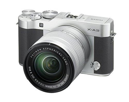 FUJIFILM X-A3  - CAMARA EVIL DE 24 MP (PANTALLA TACTIL DE 3  OBTURADOR ELECTRONICO  VIDEO FULL HD  WIFI) PLATA - KIT CUERPO CON OBJETIVO  XC 16-50 MM