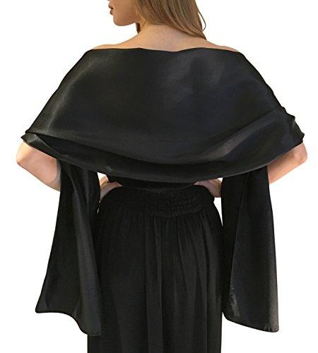 raso-di-seta-wedding-wrap-scialle-stola-pashmina-sciarpa-per-sposa-damigella-in-avorio-bianco-nero-b