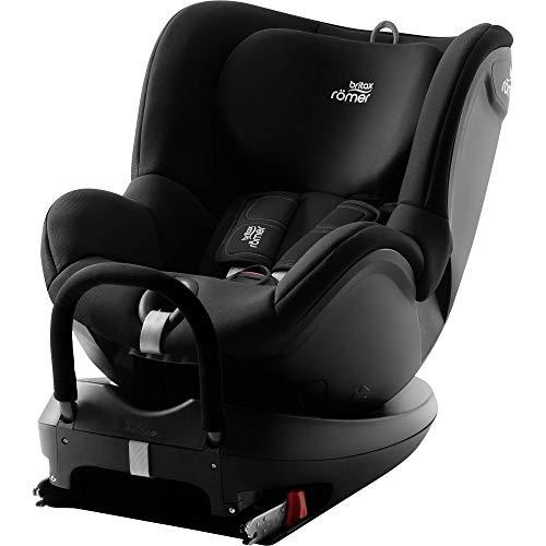 Britax Römer Kindersitz Geburt - 4 Jahre (0 - 18 kg),DUALFIX 2 R Autositz Drehbar ISOFIX Gruppe 0+/1, cosmos black
