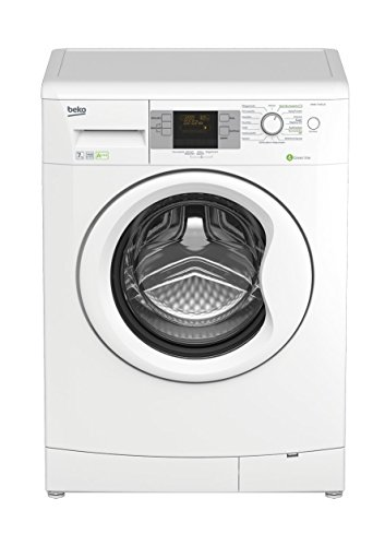 Beko WMB 71443 LE Waschmaschine Frontlader / A+++/ 1400 UpM / 0,739 kWh / 7 kg / Weiß / 51 L / Multifunktionsdisplay / 16 Waschprogramme / Brushless DC-Motor