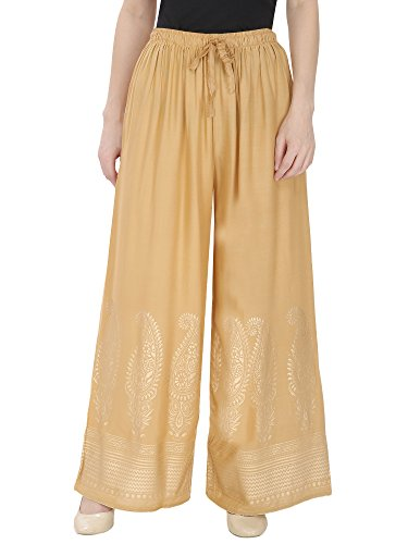 DAMEN MODE Women's Flared Pants