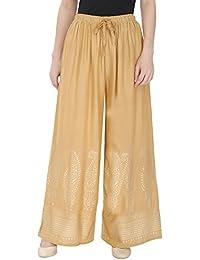 DAMEN MODE Women's Flared Pants