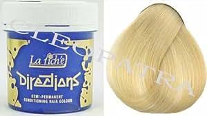 La Riché Directions Lot de 2 tubes de coloration semi-permanente pour cheveux 88 ml (Toner blanc)