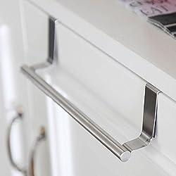 mmtop 2017para encima de la puerta Soporte de toalla accesorio de bar para colgar armario de baño estante accesorio de cocina