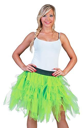 Kostüm Erwachsene Für Schmetterling Fantasie - Fantasie Kostüm Rock Damen 50 cm - Neon Grün