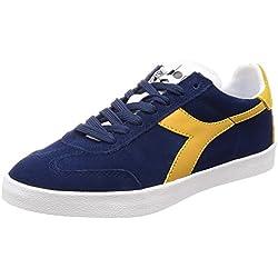 Diadora B.Original Vlz, Zapatillas de Gimnasia para Hombre, Azul (BLU Estate Sole), 41 EU
