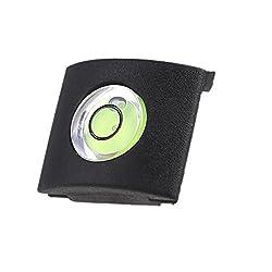 Saihan Hot Shoe Potector cover cap Hot Shoe Mount Camera Bubble Spirit Level