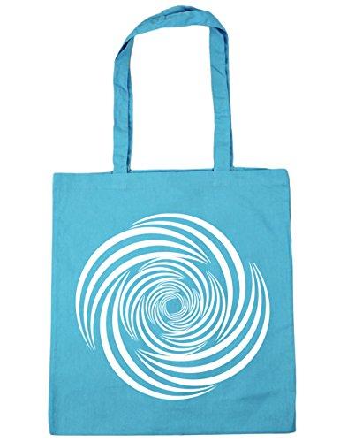Hippowarehouse, Borsa Da Spiaggia Per Donna Blu (surf Blu)