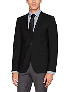 HUGO Aldons Veste De Costume, Noir (Black 001), 52 Homme (B0731NWJPX) | Amazon price tracker / tracking, Amazon price history charts, Amazon price watches, Amazon price drop alerts