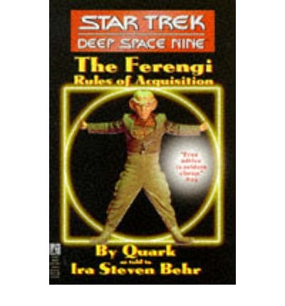 [(Ferengi Rules of Acquisition)] [Author: Ira Steven Behr] published on (July, 1995)