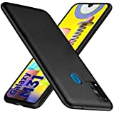 WOW Imagine Anti Slip Flexible Shockproof Case for Galaxy M31 Prime / M31 / F41 | All Sides Protective Rubberised Soft Back Case Cover with Camera Protection for Samsung Galaxy M31 / F41 - Black
