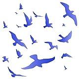 Stormo di uccelli stencil–riutilizzabili Murmuration ricamo da parete stencil template–da usare su carta progetti scrapbook Journal muri pavimenti tessuto mobili in vetro legno ecc. L