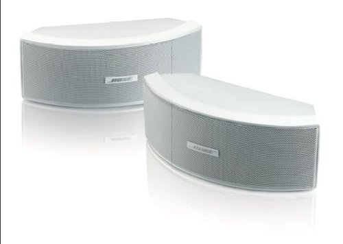 Bose ® Environmental Lautsprecher mit Mounting Brackets (bis 100 Watt Amplifier, 1-Paar) weiß