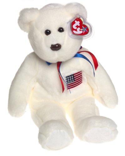 Libearty Bear (TY BEANIE BUDDY/BUDDIE*LIBEARTY*USA/AMERIKA/amerikanischer BÄR/TEDDY*ca. 34 cm groß)