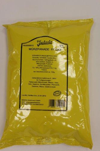 Indasia Würzpanade FF OKZ 1kg (Panade für Koteletts, Schnitzel, Cordon bleu, Bauchteile, Geflügeteile)