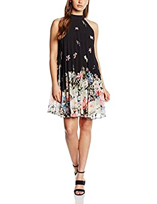 Lipsy Pleated Floral - Vestido Mujer