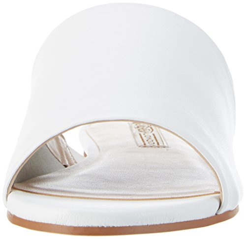 Buffalo London Donna 316-5488 Sandali Aperti In Nappa Bianco (bianco)