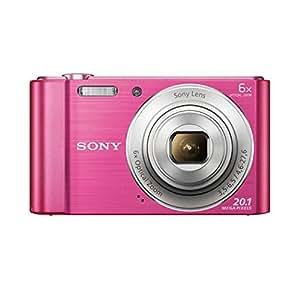 Sony DSC-W810P Appareil Photo Numérique Compact, 20,1 Mpix, Zoom Optique 6x- Rose