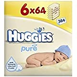 Pure Baby Wipes 6X64 (384 Wipes)