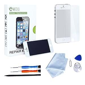 tonor iphone 5s lcd display bildschirm ersatz. Black Bedroom Furniture Sets. Home Design Ideas