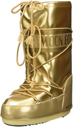 Moon-boot Damen Vinile Met Schneestiefel, Gold (ORO 003), 39/41 EU
