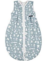Alvi Schlafsack Baby Mäxchen light I leichter Kinder-Schlafsack ärmellos I Sommerschlafsack Jungen und Mädchen I 100% Baumwolle I ÖKO Tex geprüft