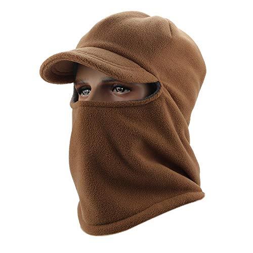 Mzl sci a cavallo di cuffia berretto antivento impostare tappo di testa imbottita spessore cappello caldo all'aperto