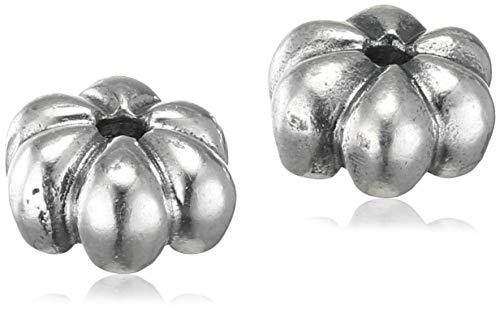 Trollbeads Damen-Ohrstecker May Flower 925 Silber - TAGEA-10001