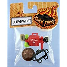 Brickforge Survivalist Accessories (Minifig Not Included)