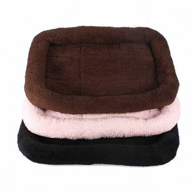 Pakhuis taglia S morbida e calda Bed Pet Dog Cat Nest Bed sonno Mat Cuscino Coperta, colore: rosa