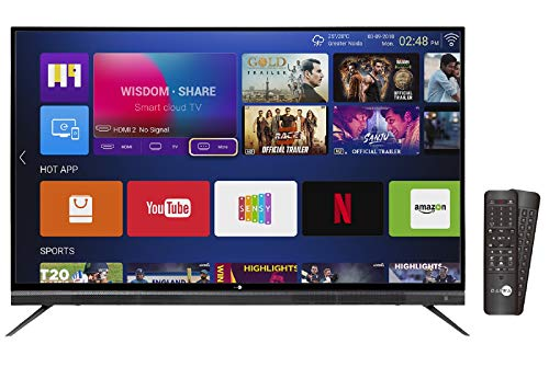 Daiwa 140 cm (55 Inches) 4K UHD Smart LED TV D55QUHD-M10 (Black) (2018 model)
