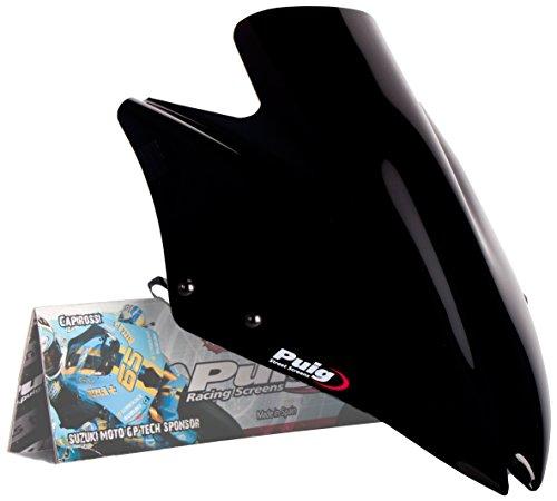 Puig 4523N - Parabrezza per Kawasaki Z750/R 2007–2012, grandezza media, colore: nero