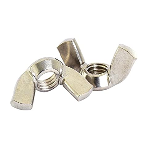 Bolt Base 5mm A2 Stainless Steel Wing Nuts Butterfly Nut DIN 315 M5 - 20