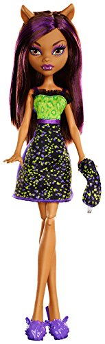 Mattel Monster High Clawdeen (High Lila Monster Haare)