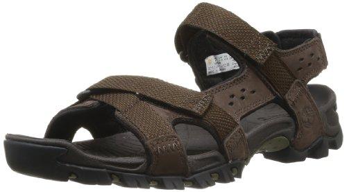Timberland  Eldridge Sandal,  Herren Sneaker , Braun - Braun - Braun (Dark Brown) - Größe: 43