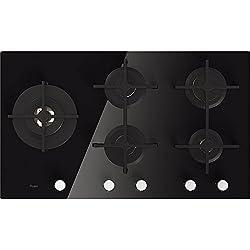Whirlpool Goa 9523/nb Plaque-Plaque (intégré, gaz, verre, rotatif, partie supérieure avant, 230V)