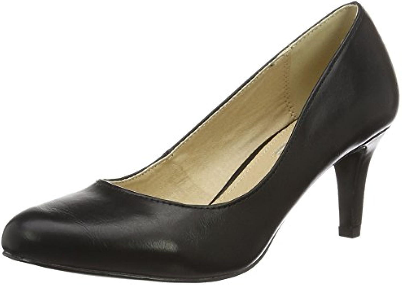 Buffalo scarpe C404a-1 P1735a Pu, Scarpe col Tacco con con con Cinturino a T Donna   Nuovo Prodotto  2942f8