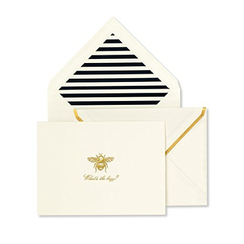 Kate Spade New York Notecard Set - What's The Buzz? - New York-akzent