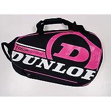 Paletero de pádel Dunlop Tour Intro Negro / Rosa