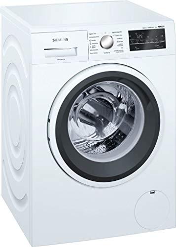 siemens iq500 wm12t469es independiente carga frontal 8kg 1200rpm a+++ blanco - lavadora (independiente, carga frontal, blanco, giratorio, tocar, izquierda, led)