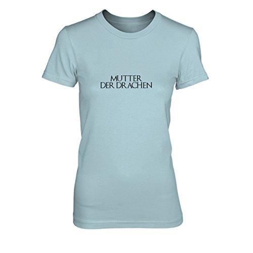 GoT: Mutter der Drachen - Damen T-Shirt Hellblau