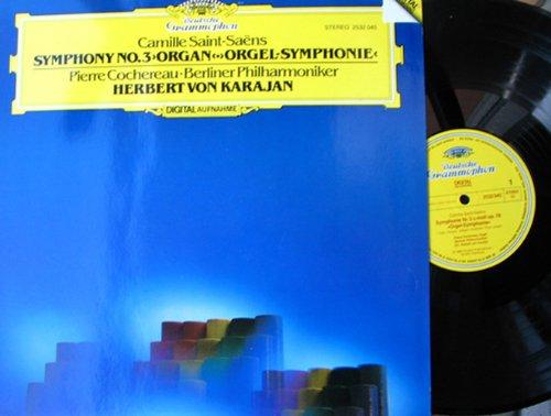 """Symphonie Nr. 3 op. 78 """"Orgel-Symphonie"""". Herbert von Karajan, Pierre Cochereau Stereo"""