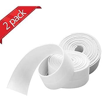 Snner 1 Wall Sealing Strip White Amazon Co Uk Diy Amp Tools