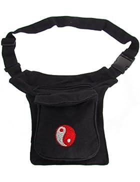 Sidebag Hüfttasche Gürteltasche nur noch in ganz schwarz ohne Zeichen