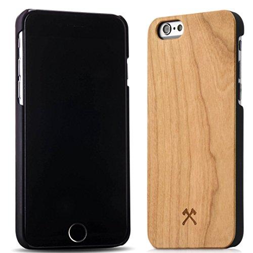 Woodcessories - EcoCase Classic - Premium Design Case, Cover, Hülle für das iPhone aus FSC zert. Holz (iPhone 6/ 6s, Kirsche/ schwarz) (Iphone 6 Holz-hülle (slim)