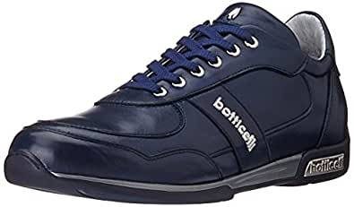Roberto Botticelli Men's Blue Leather Sneakers - 11 UK (PLU28814)
