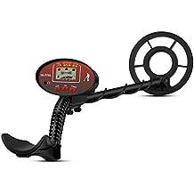 ÖTEK Detector de Metales para Adultos y Niños con Pinpoint, Barra Totalmente Ajustable