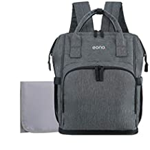 Eono Essentials Large Baby Changing Backpack with Pram Clips